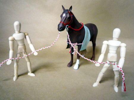 馬フィギュア オーダーメイド
