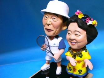 金婚式 そっくり人形