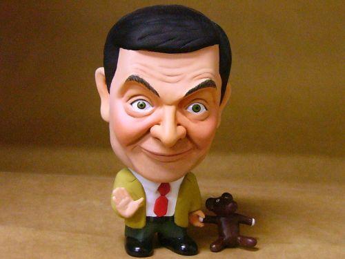 ミスタービーン そっくり人形 フィギュア