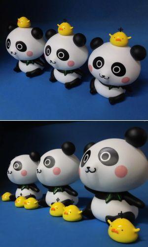 パンダ オリジナルフィギュア オーダーメイド