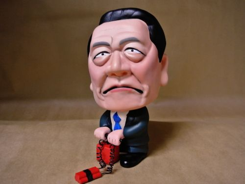 小沢一郎 そっくり人形