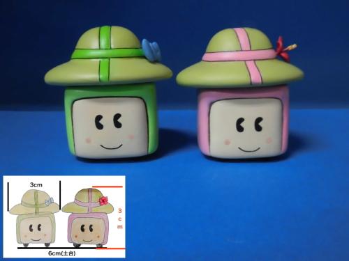 帽子ゆるキャラ製作例